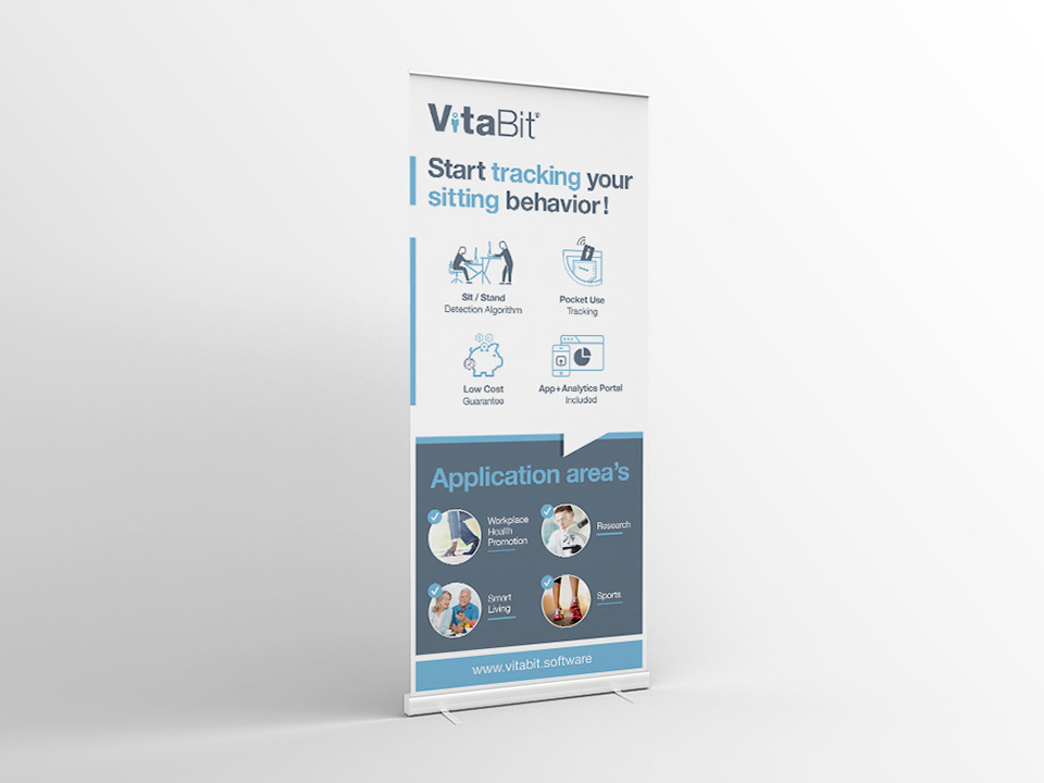 VitaBit Roll Up banner